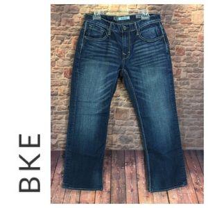 🐞Men's BKE Derek designer distressed/faded jean